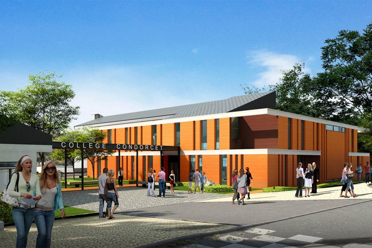 DOURDAN, Restructuration extension collège