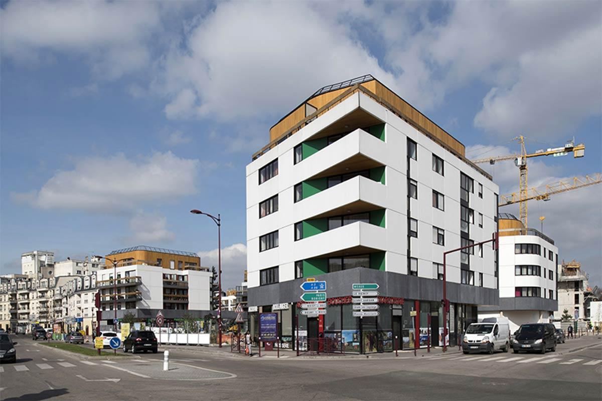 BONDY, 52 logements sociaux et commerces